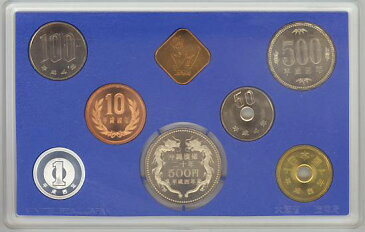 【年号別貨幣セット】 平成4年(1992年) 通常貨幣セット 沖縄復帰二十周年記念500円硬貨入り 【ミントセット】
