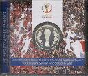【 銀貨 】 2002年FIFA日韓ワールドカップ記念 1000円プルーフ銀貨 平成14年【サッカー ...