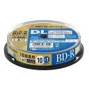 三菱ケミカルメディア VBR260RP11SD5 録画用BD-RDL(片面2層)インクジェットプリンタ対応ワイドレーベル スピンドル11枚パック