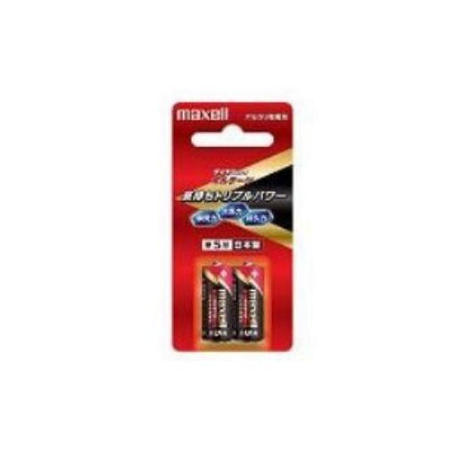 電池, 乾電池 (Maxell) 52 LR1(T)2B