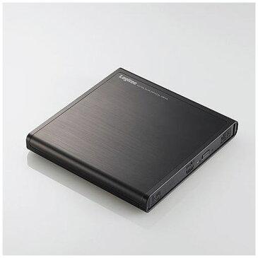 ロジテック LDR-PMJ8U2LBK USB2.0ポータブルDVDドライブ 書込ソフト付き ブラック