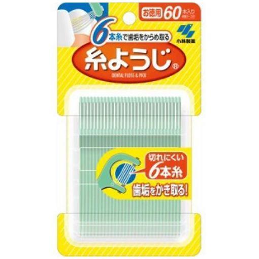 小林製薬 糸ようじ フロス&ピック デンタルフロス 60本入り
