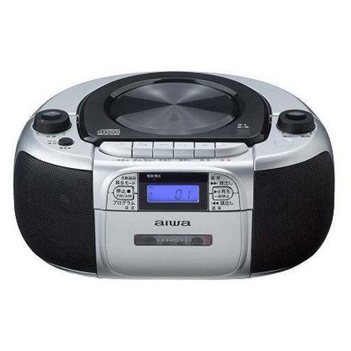 【ポイント10倍!4/22(月)20:00~4/26(金)01:59まで】アイワ CSD-M20 CDラジオカセットレコーダー