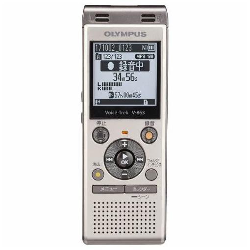 【ポイント10倍!4/22(月)20:00~4/26(金)01:59まで】オリンパス V-863-GLD ICレコーダー 「Voice-Trek」 ゴールド