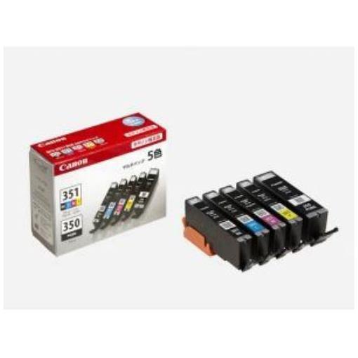 キヤノン 純正 インクカートリッジ BCI-351+350/5MP 1パック 5色 6552B003 BCI-350/351シリーズ キャノン Canon
