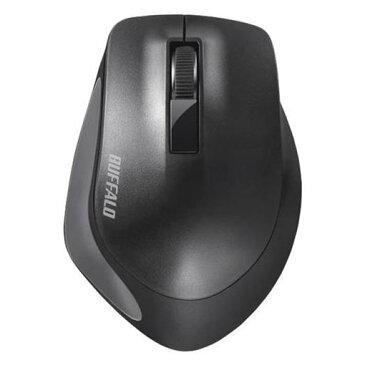 【ポイント10倍!】バッファロー BSMBW300MBK Premium Fitマウス無線/BlueLED光学式/静音/3ボタン/Mサイズ ブラック