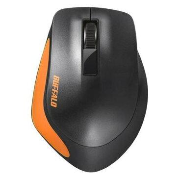 【ポイント10倍!】バッファロー BSMBW300MOR Premium Fitマウス無線/BlueLED光学式/静音/3ボタン/Mサイズ オレンジ