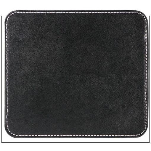 ロイヤルモンスター RM-3195BK レザーマウスパッド (スクエア) リアルブラック画像
