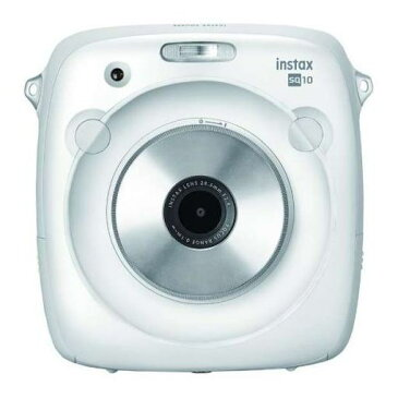 富士フイルム INSTAXSQUARESQ10W インスタントカメラ instax SQUARE SQ 10 「チェキ」ホワイト