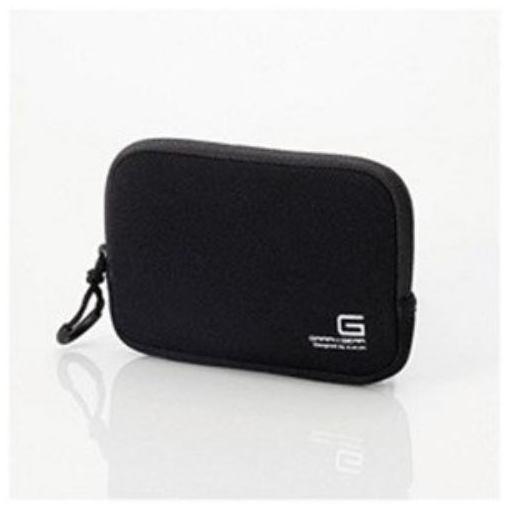 エレコム デジカメケース ネオプレン Sサイズ ストラップ無し ブラック DGB-065BK 1個