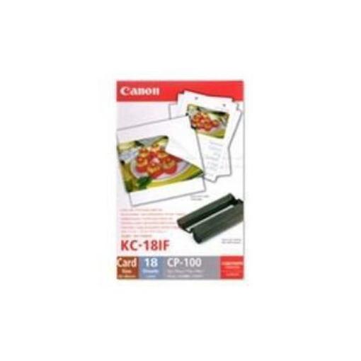 BJプリンタ用紙 カラーインクラベルセットKC18IF画像