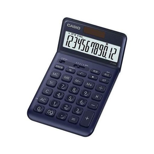 カシオ スタイリッシュ電卓(ジャストタイプ12桁) JF-S200-NY-N