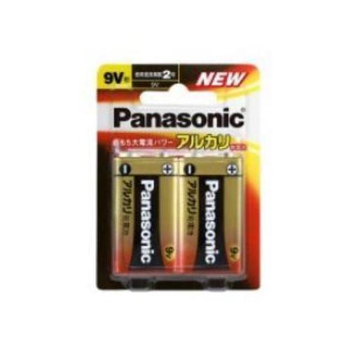 パナソニック アルカリ乾電池 9V形 2本パック 6LR61XJ2B