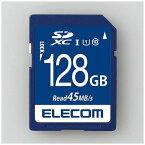 【ポイント10倍!10月15日(火)0:00〜23:59まで】エレコム MF-FS128GU11R データ復旧SDXCカード(UHS-I U1) 128GB