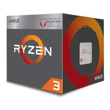 AMD YD2200C5FBBOX AMD CPU 2200G(Ryzen 3 Raven Ridge)Radeon Vega 8グラフィックス搭載