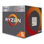 【ポイント2倍!11/20(火)0:00〜23:59まで】AMD YD2400C5FBBOX AMD CPU 2400G(Ryzen 5 Raven Ridge)Radeon RX Vega 11グラフィックス搭載