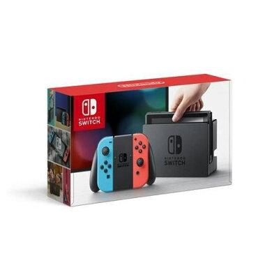 【ポイント10倍!2/1(金)0:00〜23:59まで】任天堂 Nintendo Switch Joy-Con(L) ネオンブルー/(R) ネオンレッド HAC-S-KABAA