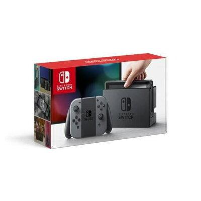 【ポイント10倍!2/1(金)0:00〜23:59まで】任天堂 Nintendo Switch Joy-Con(L)/(R) グレー HAC-S-KAAAA