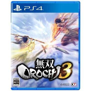 【ポイント10倍】無双OROCHI3 通常版 PS4版 PLJM-16264