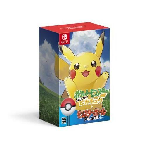 【ポイント10倍!5月30日(木)0:00~】ポケットモンスター Let's Go! ピカチュウ モンスターボール Plusセット Nintendo Switch HAC-R-ADW2A