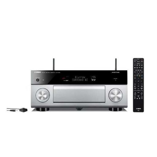 ヤマハ RX-A2080H AVアンプ ハイレゾ対応/Bluetooth対応/Wi-Fi対応/ワイドFM対応/7.1.2ch/DolbyAtmos対応 チタン