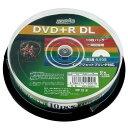 磁気研究所 HDD+R85HP10 データ用DVD+R DL 片面2層 10枚スピンドル