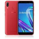 【ポイント10倍!12月11日(水)01:59まで】ASUS ZB555KL-RD32S3 SIMフリースマートフォン 「Zenfone Max M1 Series」 5.5インチ/メモリ 3GB/ストレージ 32GB ルビーレッド