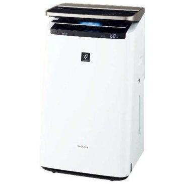 【ポイント3倍】シャープ KI-JP100-W プラズマクラスターNEXT搭載 加湿空気清浄機(空清46畳まで/加湿26畳まで)ホワイト系