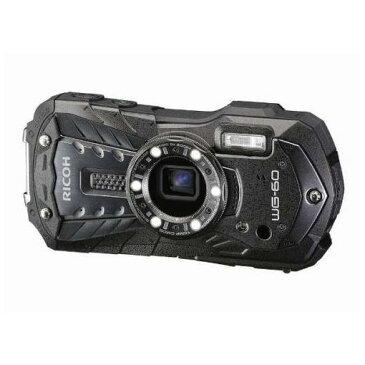 【ポイント10倍!4月9日(火)20:00〜4月16日(火)1:59まで】リコー WG-60BK デジタルカメラ「RICOH WG-60」(ブラック)