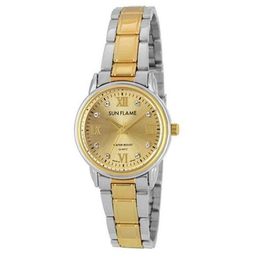 サンフレイム MJL-D82-T 腕時計 レディース