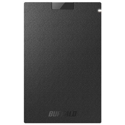【ポイント10倍!4/22(月)20:00~4/26(金)01:59まで】バッファロー SSD-PG480U3-BA 耐振動・耐衝撃 USB3.1(Gen1)対応 ポータブルSSD 480GB ブラック