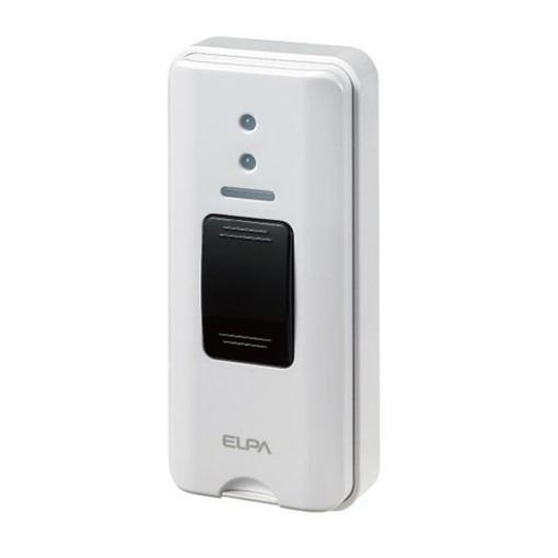 朝日電器 エルパ ELPA ワイヤレスチャイム 押しボタン送信器 EW-P30