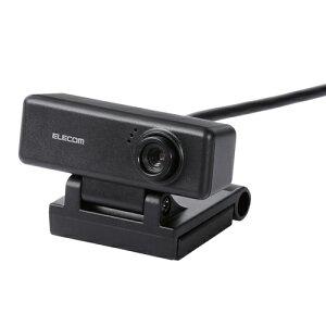 エレコム UCAM-C310FBBK ワイド画面HD対応100万画素Webカメラ