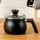 [2.5L]炒める 煮る 沸かす 炊く マルチに使える話題の鍋「マルチポット」27.5×17.5×17.0cm ブラック