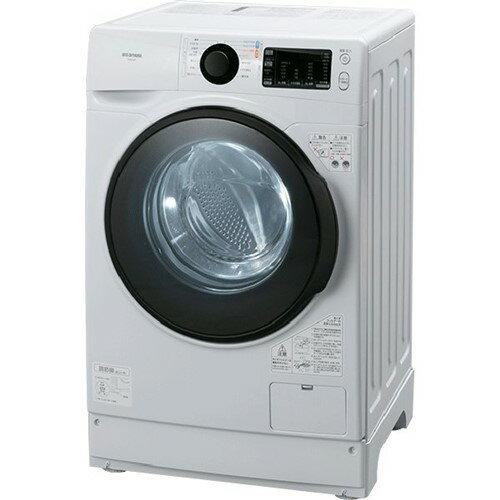 長期保証 アイリスオーヤマHD81AR-Wドラム式洗濯機(洗濯・脱水8.0kg/左開き)ホワイト
