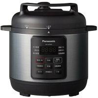 電気圧力鍋 パナソニック 圧力鍋 SR-MP300-K 電気圧力なべ ブラック 圧力鍋