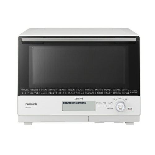 【無料長期保証】パナソニック 電子レンジ オーブンレンジ NE-BS807 ビストロ ホワイト スチーム