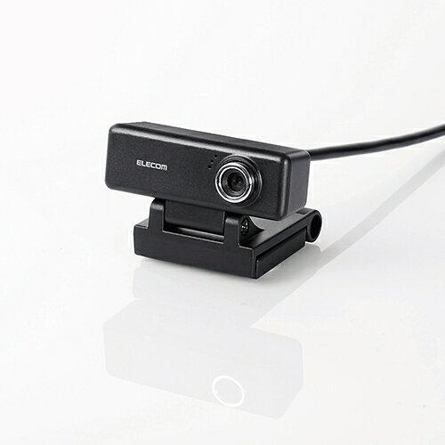 エレコム UCAM-C520FEBK ウェブカメラ ブラック 有線 ELECOM