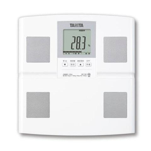 タニタ BC-765-WH 体組成計 ホワイト 体重計