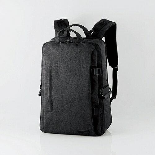 エレコム off toco/2STYLEカジュアルカメラバッグ バックパック ハイグレード Lサイズ ブラック DGB-S037BK 1個