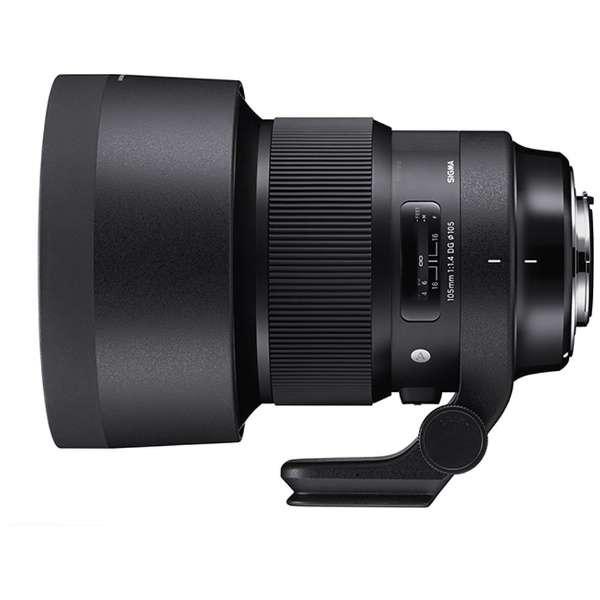 シグマ交換用レンズ105mmF1.4DGHSMArtソニーEマウント用