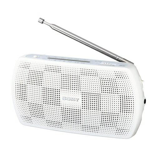 ソニーSRF-19-Wステレオポータブルラジオホワイト