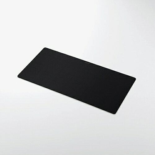 エレコム マウスパッド 超大判 ブラック MP-DM01BK 1個 ELECOM