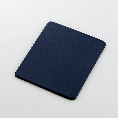 エレコム マウスパッド ソフトレザー Sサイズ ネイビー MP-SL01NV 1個 ELECOM