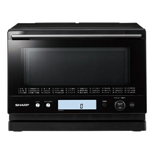 【無料長期保証】シャープ 電子レンジ オーブンレンジ RE-WF231 23L ブラック系 過熱水蒸気