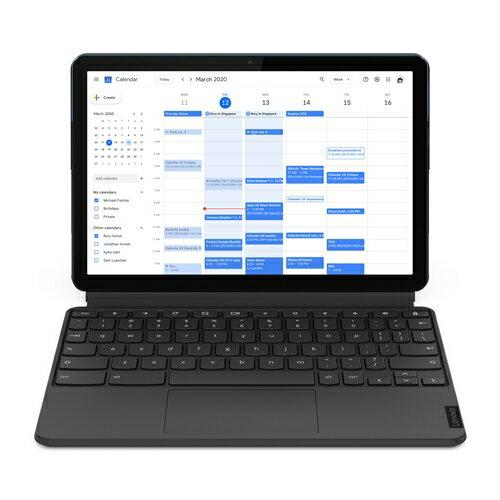 ノートパソコン新品レノボZA6F0038JPLenovoIdeaPadDuetChromebookアイスブルー+アイアングレーノ