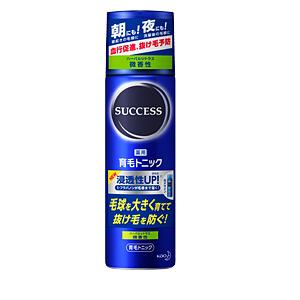 花王 サクセス 薬用育毛トニック 微香性 180g