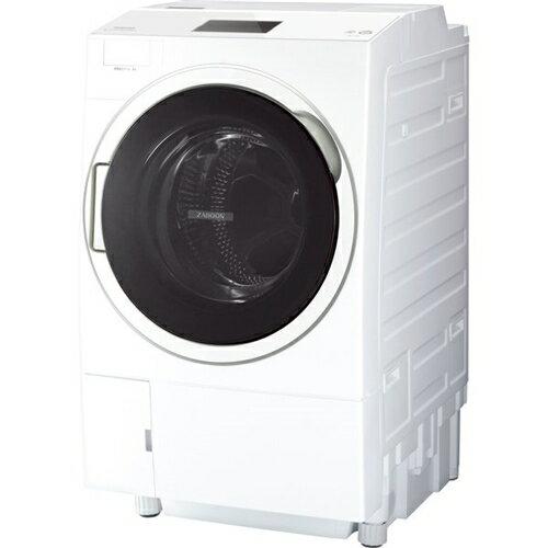 【無料長期保証】東芝 TW-127X9L(W) ドラム式洗濯乾燥機 (洗濯12.0kg・乾燥7kg) ZABOON ウルトラファインバブルW搭載 左開き グランホワイト