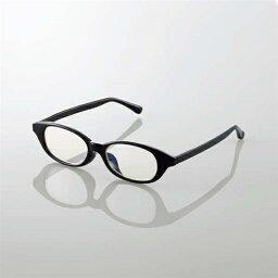 エレコム G-BUC-W03MBK キッズ用ブルーライト対策メガネ ブラック Mサイズ