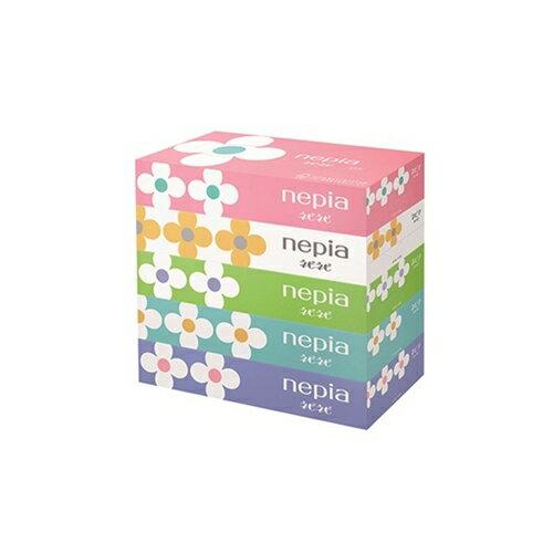 王子ネピア ネピアティッシュ 150W 4901121181431 1セット(5箱×12)